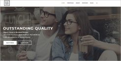 Outstanding Landing Page Drupal Template