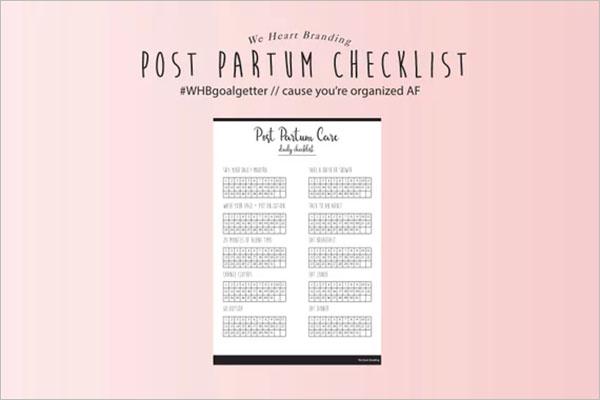 PDF Daily Checklist Format