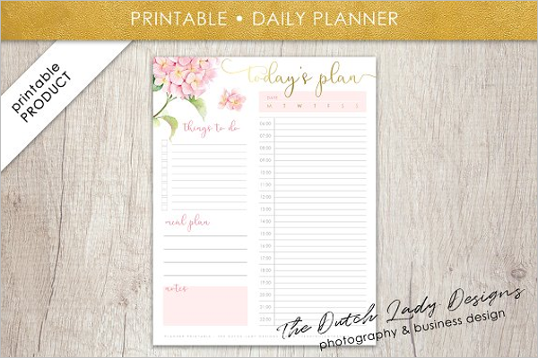 Passion Monthly Planner Template