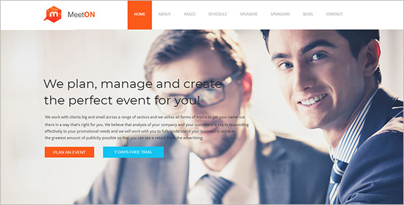 Perfect Landing Page Drupal Template