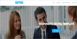 Personal Business Drupal Template