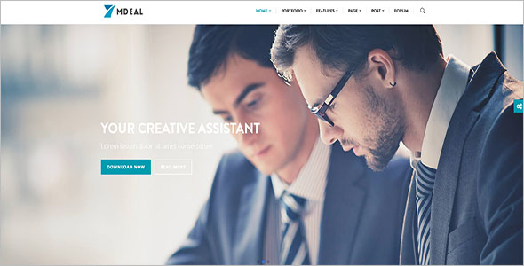 Personal Business Drupal Theme