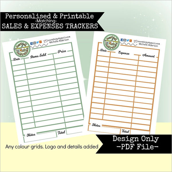 Personal Expense Sheet Template