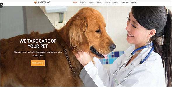 Pet Doctor Bootstrap Theme