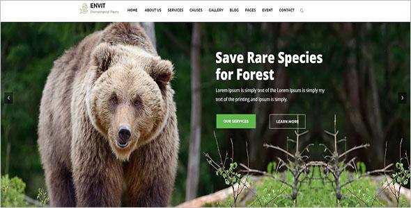 Pet Website Bootstrap Template