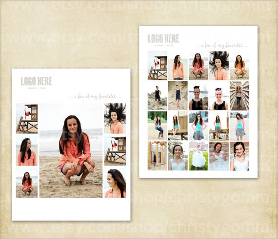 Photo Contact List Template PDF