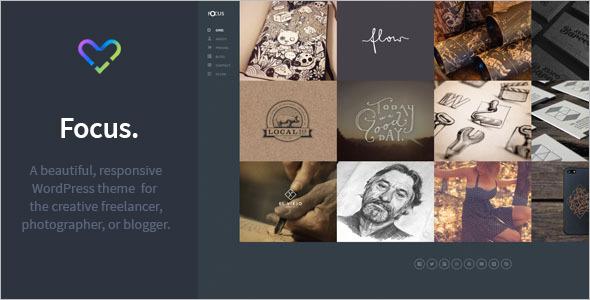 Photography Writer Website Theme