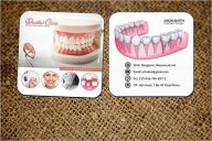 Photorealistic Dental Care Business Card Template