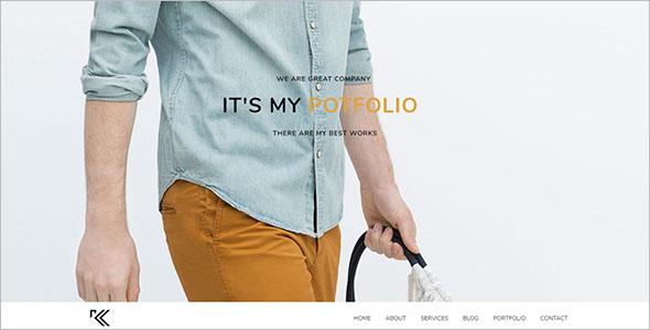 Portfolio Joomla Theme