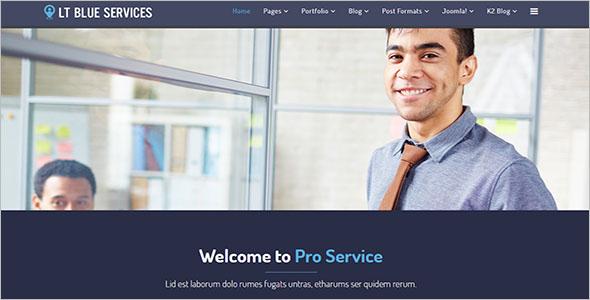 Premium Business Joomla Template