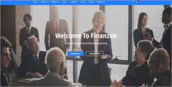 Premium Financial WordPress Theme