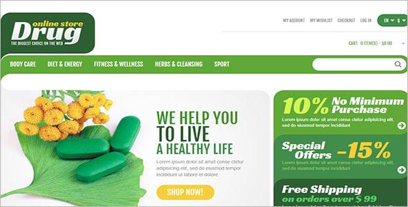 Premium Health Magento Theme