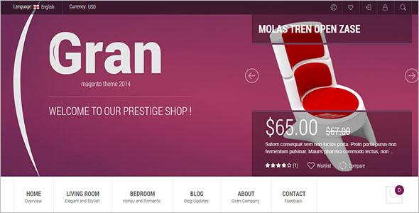 Premium Retail Magento Theme