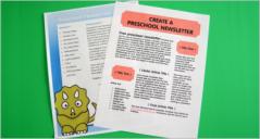 19+ Printable PreSchool Newsletter Templates