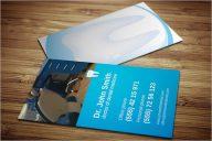 Printable Dental Care Business Card Template