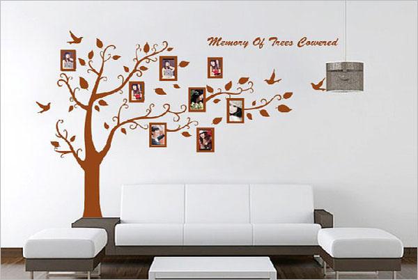 Printable Photo Family Tree Template