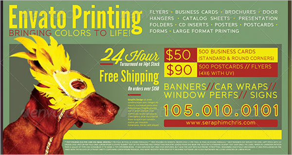 Printable Sales Sheet Template