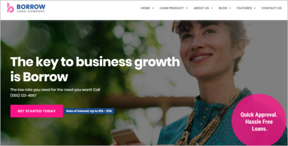 Professional Company WordPress Theme