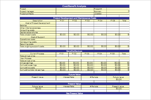 17+ Cash Flow Analysis Templates Free Excel, Word Formats