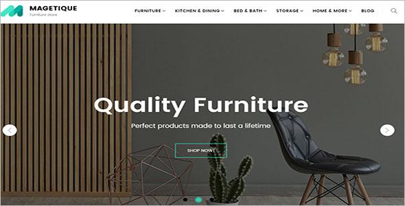 Quality Furniture Magento Theme