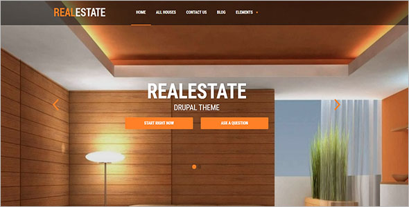 Real Estate Drupal Theme