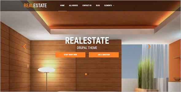 Real Estate Drupal Theme
