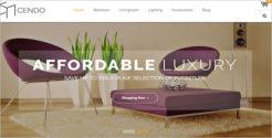 Responsive Blog Furniture Theme