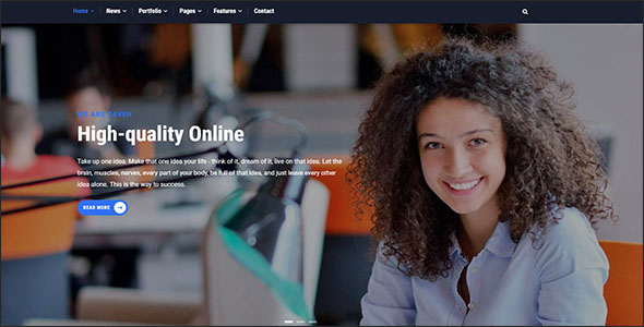 Responsive Business Drupal Theme