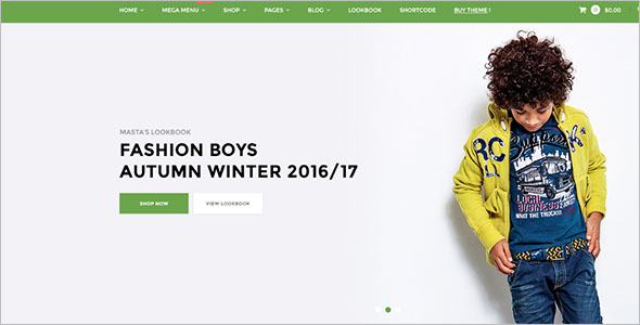 Responsive Ecommerce Blog Theme