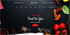 Responsive Food Shop Joomla Template