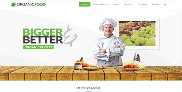 Responsive Food Store Joomla Template