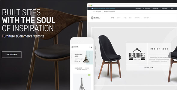 Responsive Furniture Magento Theme