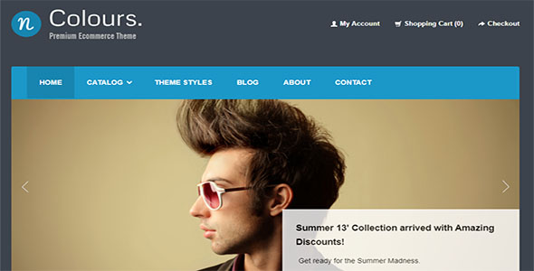 Responsive HTML Page Template