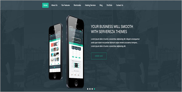 Responsive Hosting WP Theme