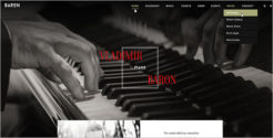 Responsive Joomla Template For Music