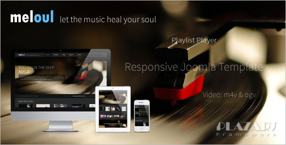 Responsive Music Joomla Template
