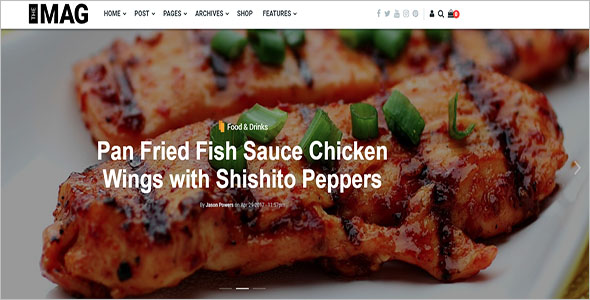 Restaurant Bootstrap Drupal Theme