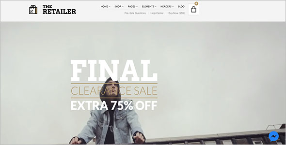 Retail Blog Theme