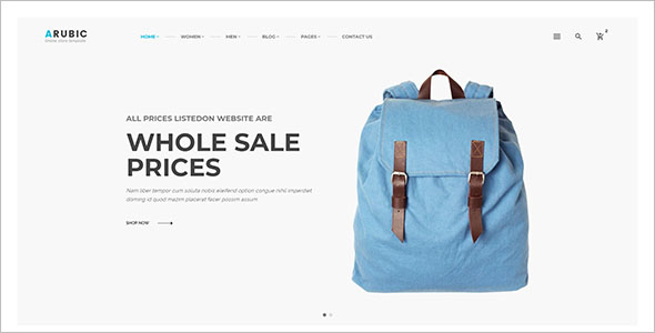 Retail Bootstrap Template