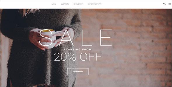 Retail Fashion Shop Magento Theme