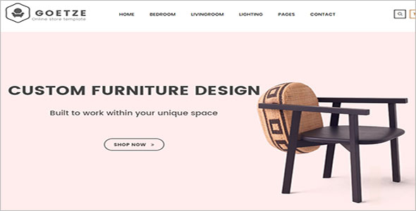 Retail Furniture Bootstrap Template