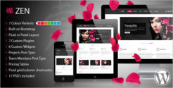 Retail WordPress Blog Theme
