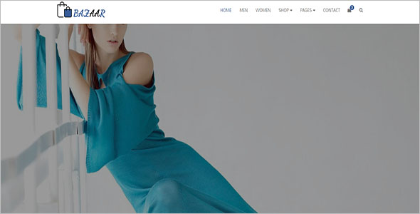 Retailer Bootstrap Website Tempate