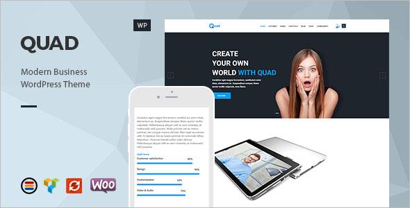 Retina Ready Business WordPress Theme