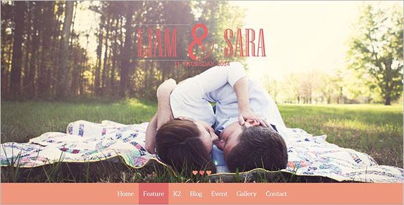 Romantic Wedding Joomla Template