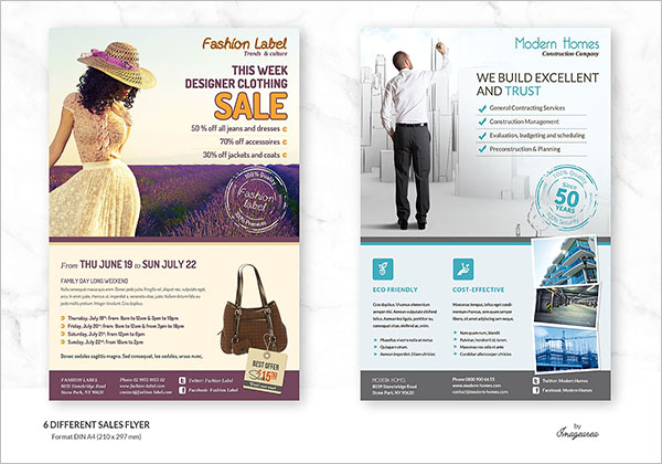 Sales Sheet Design