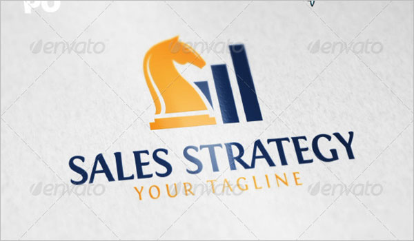 Sales Strategy Logo Template