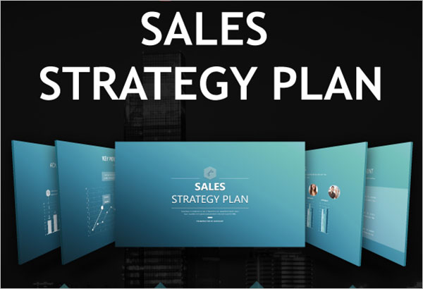 Sales Strategy Plan PowerPoint