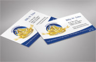 Sample Charity Business Card Template