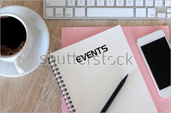 Sample Event Checklist Template
